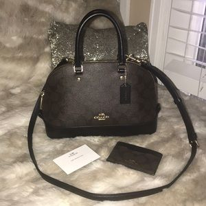 COACH Sierra Satchel w/ Matching Card Case